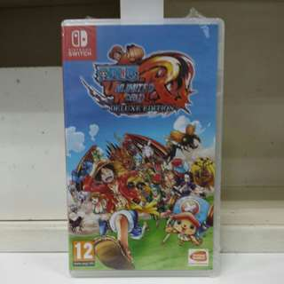 Switch One Piece Unlimited World Red Deluxe Edition