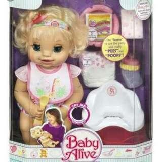 Baby alive potty