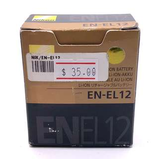 Nikon EN-EL12 Rechargeable Lithium ion Battery
