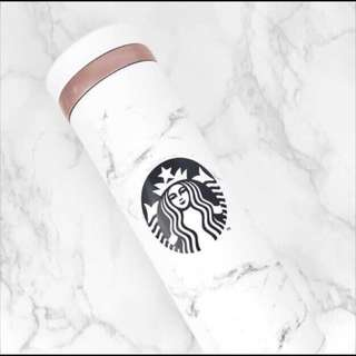 [PO] Starbucks Korea JNO Marble White Thermos