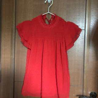 Dorothy perkins red sleeveless top