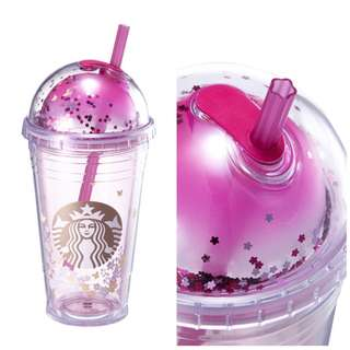Starbucks Korea Spring Flower Dome Cold Cup