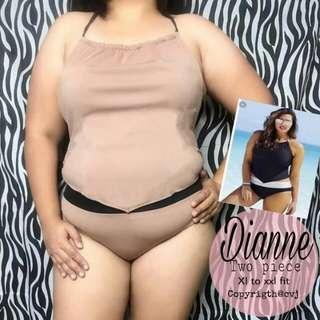 🌷 dianne 2piece plus'size swimwear