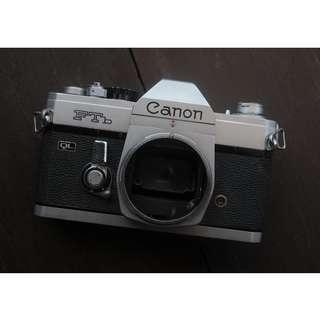 Canon FTb ( Film Camera | Kamera Lama )