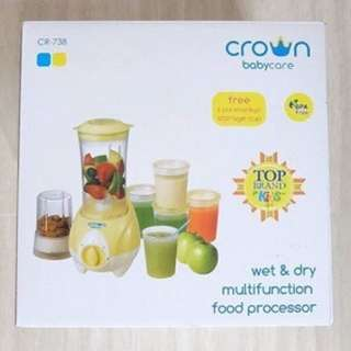 SALE!!! Crown Mulfunction Food Processor