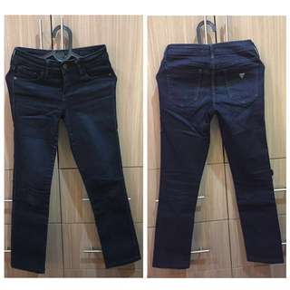 """Authentic GUESS JEANS """"Kate-Cigarette"""" Preloved"""
