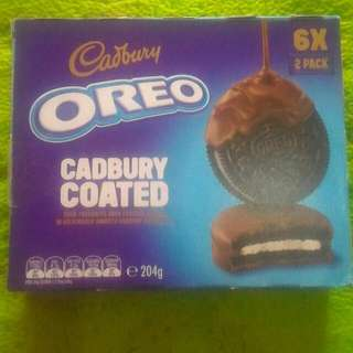 Cadbury oreo coated