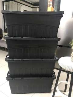 4 pcs. storage boxes