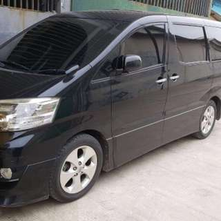 Toyota Alphard type-V 2006 Build-up