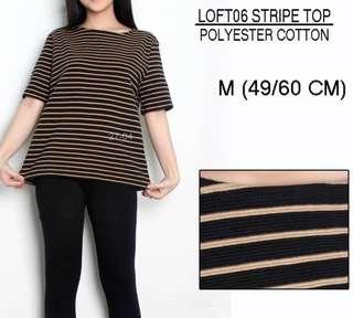 Branded LOFT Stripe Top