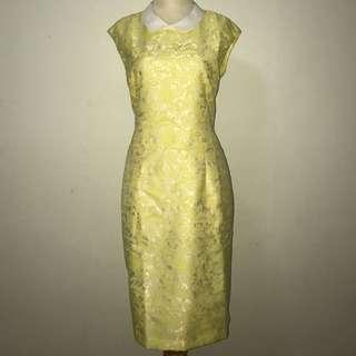 BNWT ~ Yellow Flower Dress (Plus Size)