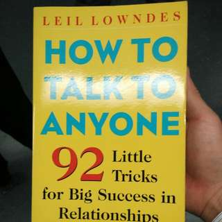 How To Talk To Anyone 92 Little Tricks