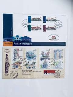 S'pore First Day Covers