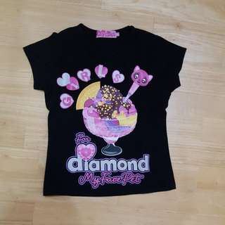 Girl t-shirt for 8yo
