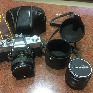 Minolta單眼底片相機