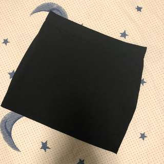 Factorie black bandage skirt
