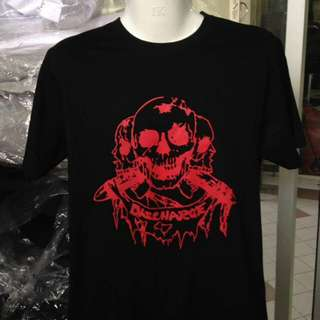 Discharge punk band tees