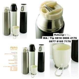 Souvenir Tumbler Alpha Vacuum Flask - Botol Termos Promosi