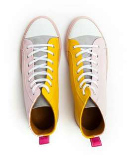 Inch2 High top Ice Cream leather sneakers