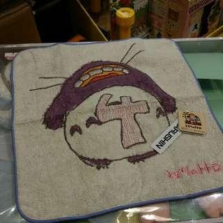 原裝 日本 宮崎駿 系列 Totoro 龍貓 月份 表達 小方巾 毛巾 Towel 23 × 23cm 4月份 Apr