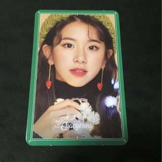 TWICE: Merry and Happy - Chaeyong Special Photocard