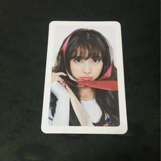 TWICE: Merry and Happy - Nayeon Pink Photocard