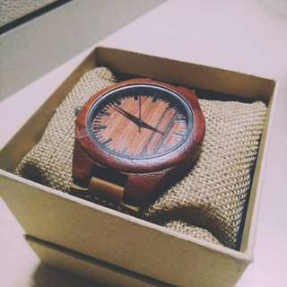 The Red Maple - Kawayan Watches
