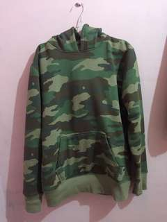Camouflage Hoodie Pull & Bear