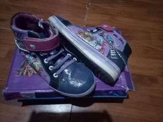 Monster High Top Trainer Girls Shoes
