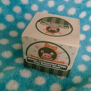 Marion Carbonated Piggy Clay Bubble Mask