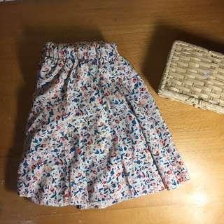 🚚 小花造型褲裙