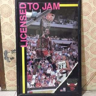 Poster Michael Jordan - Chicago Bulls