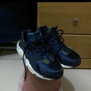 🚚 Nike air huarache 藍迷彩