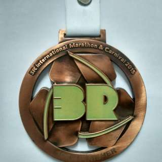 Medal 3R International Marathon & Carnival 2015