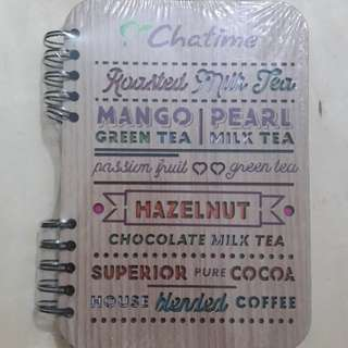 Notebook Chatime