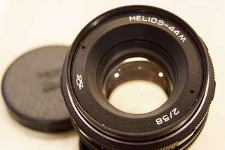 Helios 44M 58/2