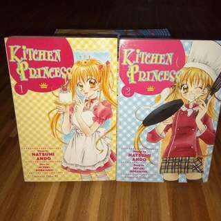 Kitchen Princess Manga Set