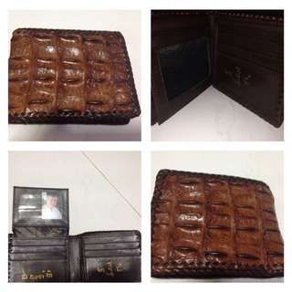 Guru Noy prosperity Crocodile Skin wallet No.3