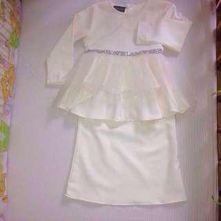 Baju Kurung Peplum 1y-2y