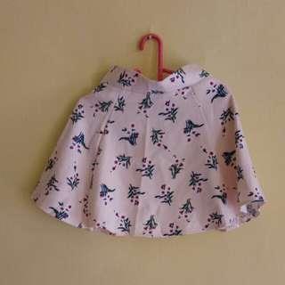 Skirt pink flowers