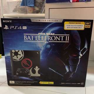 [BNIB] PS4 Pro Star Wars Battlefront Limited Edition w Additional Controller