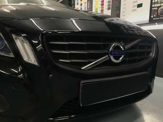 Volvo grille dipped!!