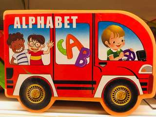 Educational Early Learning Alphabet ABC Board Book