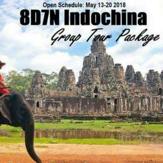 8D7N INDOCHINA GROUP TOUR PACKAGE