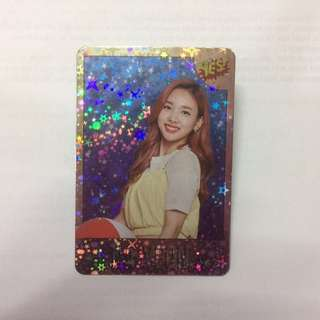 Twice - Nayeon shining photocard