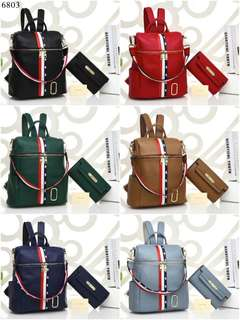 Ransel MARC JACOBS  Backpack 6803*