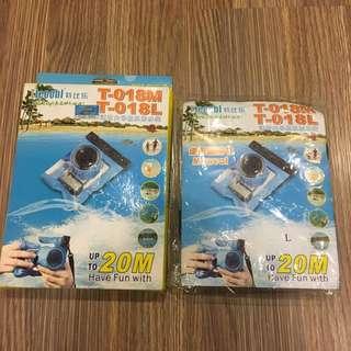 🚚 *全新* 相機防水袋 L 17x13.5cm