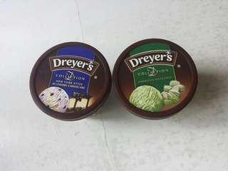 美國開心果/紐約藍莓芝士味 Dreyer's D-Collection 雪糕 Ice-cream 細杯裝 100ml