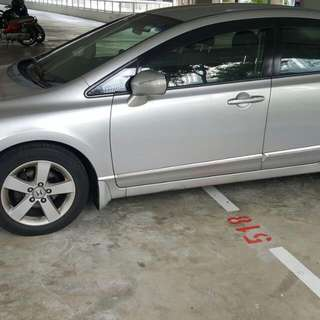 Honda Civic FD 1.8L Automatic      -(SG)-  Year 2008