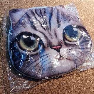 全新 貓咪 散紙包 銀包仔